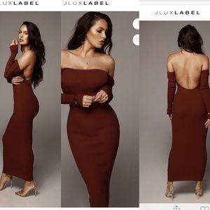 ❗️SALE ❗️1 Left!! Ribbed Open Back Maxi Dress